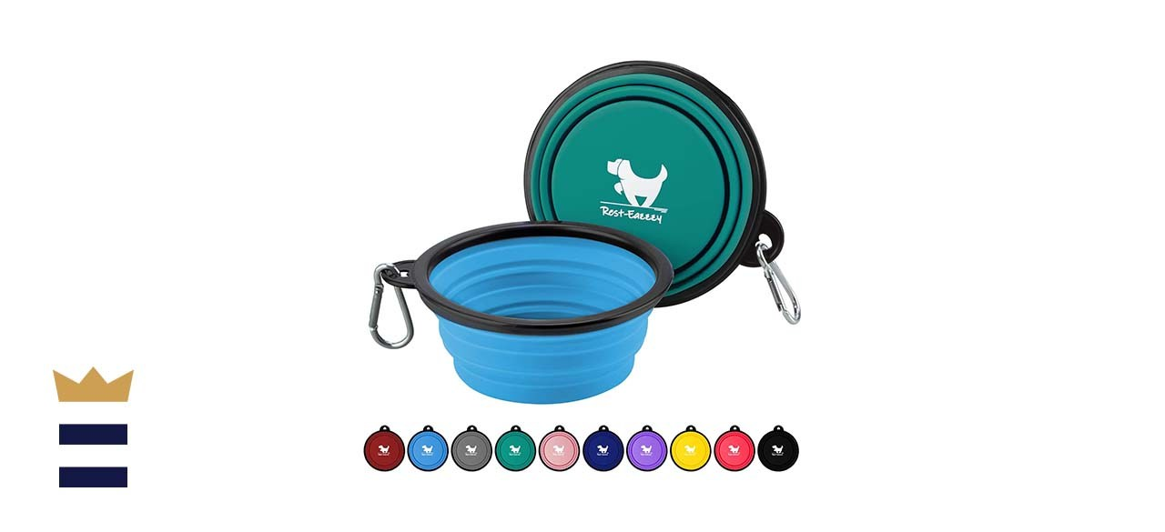 Rest-Eazzzy Expandable Dog Bowls for Travel