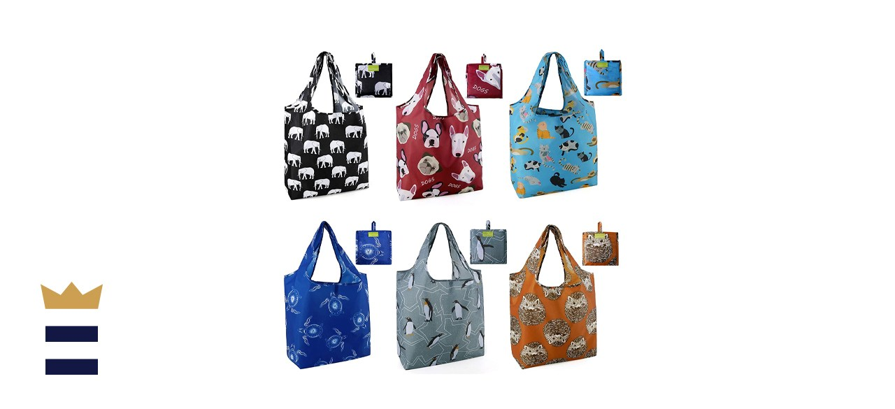 Reusable shopping bags by BeeGreen Store