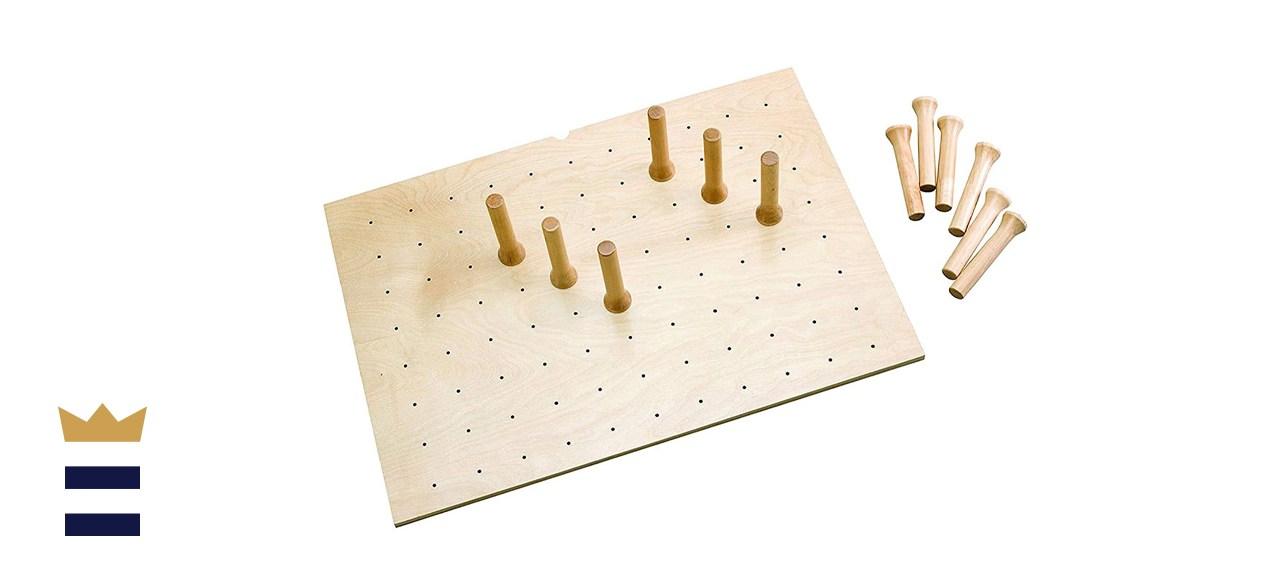 Rev-A-Shelf Wood Peg Board System for Deep Drawers
