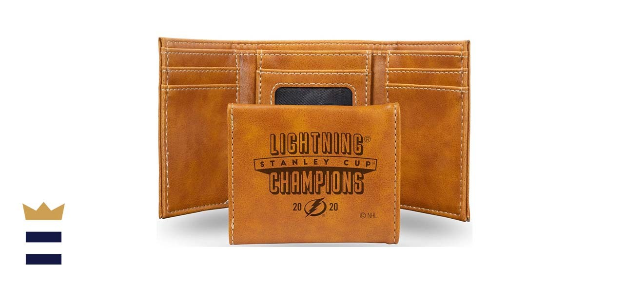 Rico 2020 Stanley Cup Champions Tampa Bay Lightning Laser-Engraved Trifold