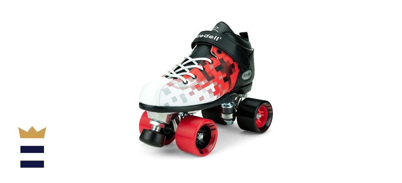 Riedell Skates Dart Pixel Quad Roller Speed Skate