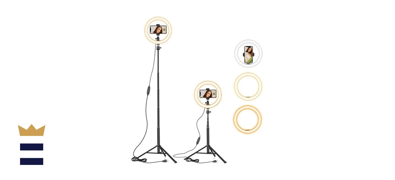 Ring Light with Extendable Tripod Stand