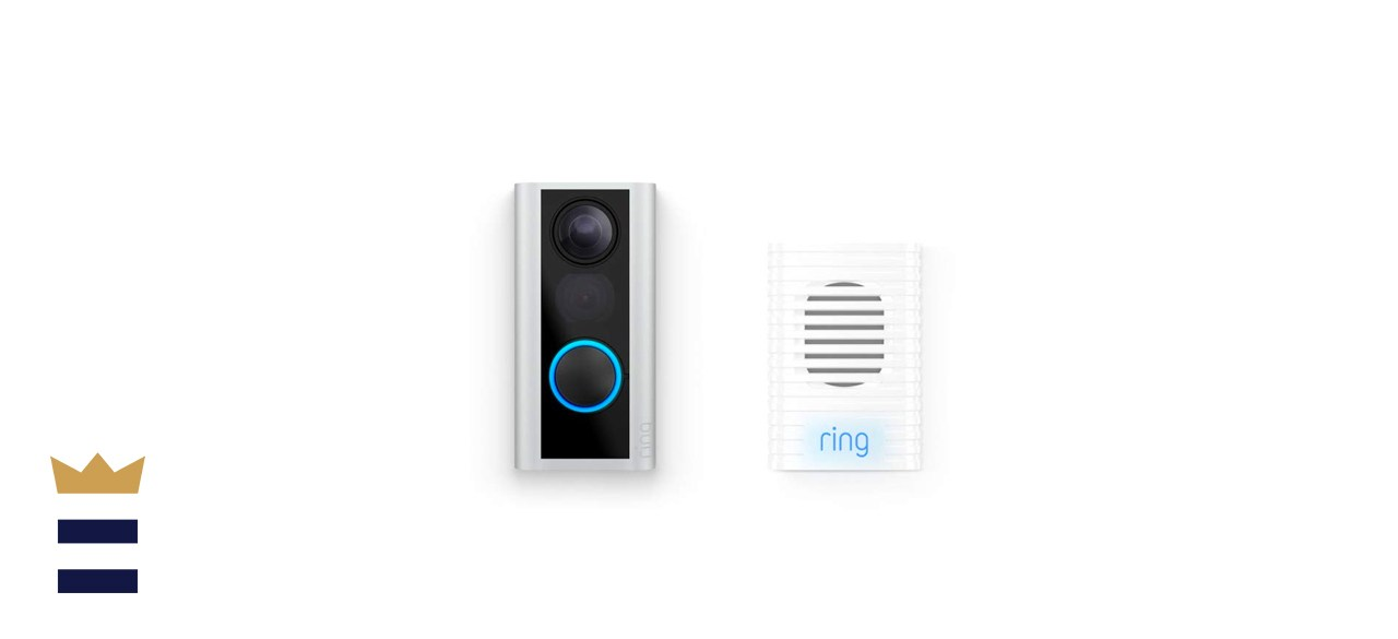 Ring Peephole Cam with Ring Chime