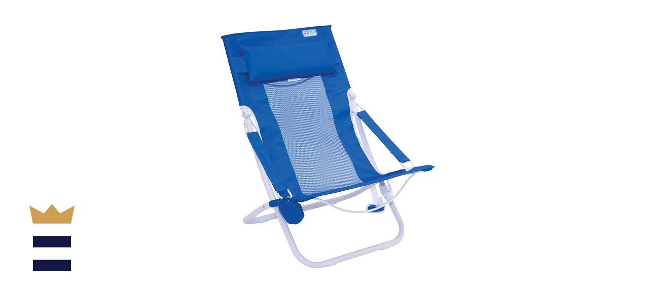 Rio Blue Breeze Hammock Aluminum Lawn Chair