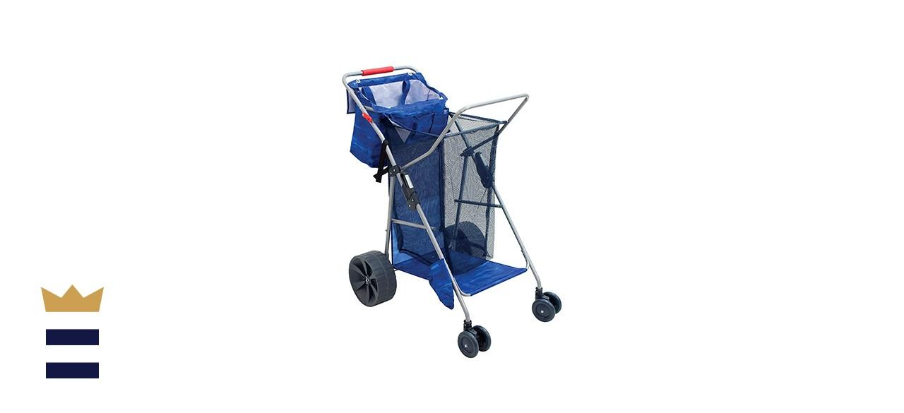Rio Brands Beach Wonder Wheeler Deluxe Foldable Cart