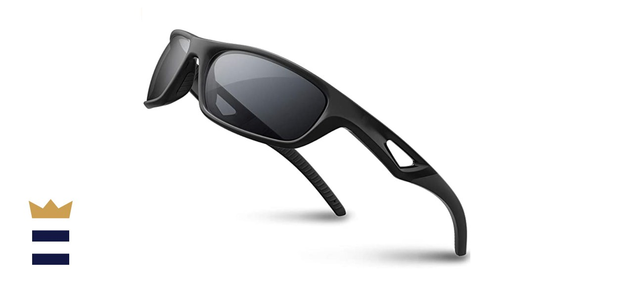 RIVBOS Polarized Sports Sunglasses Driving shades For Men