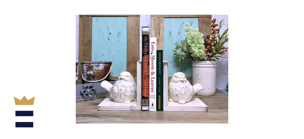 robinseggvintageNC Bird Figurines Set of Bookends