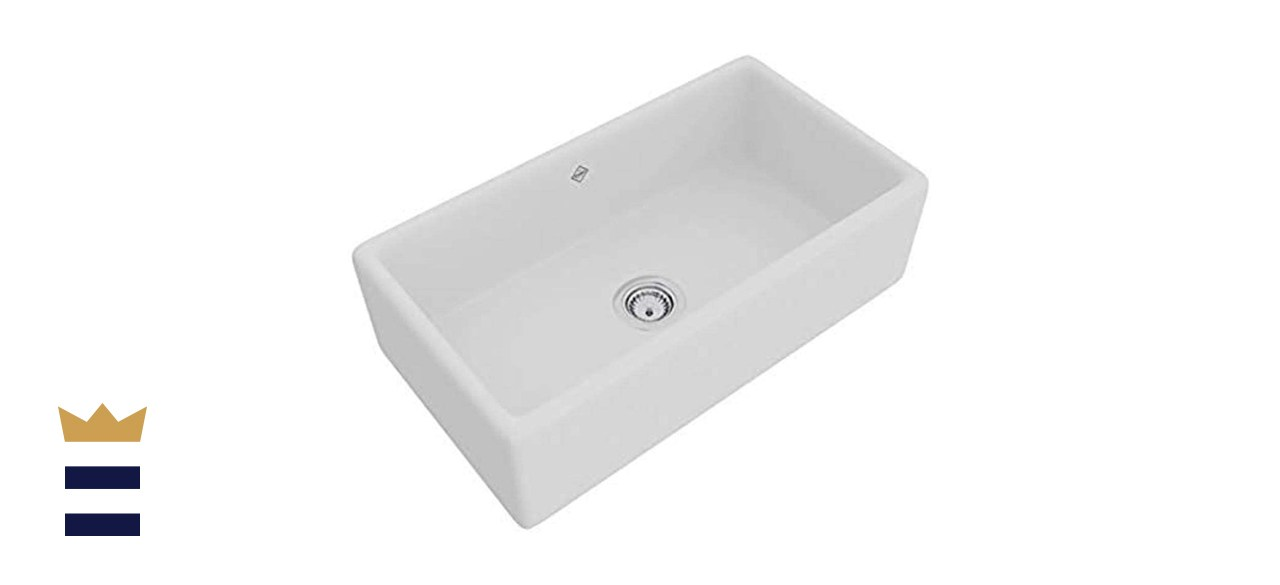 Rohl Single Bowl Fireclay Sink