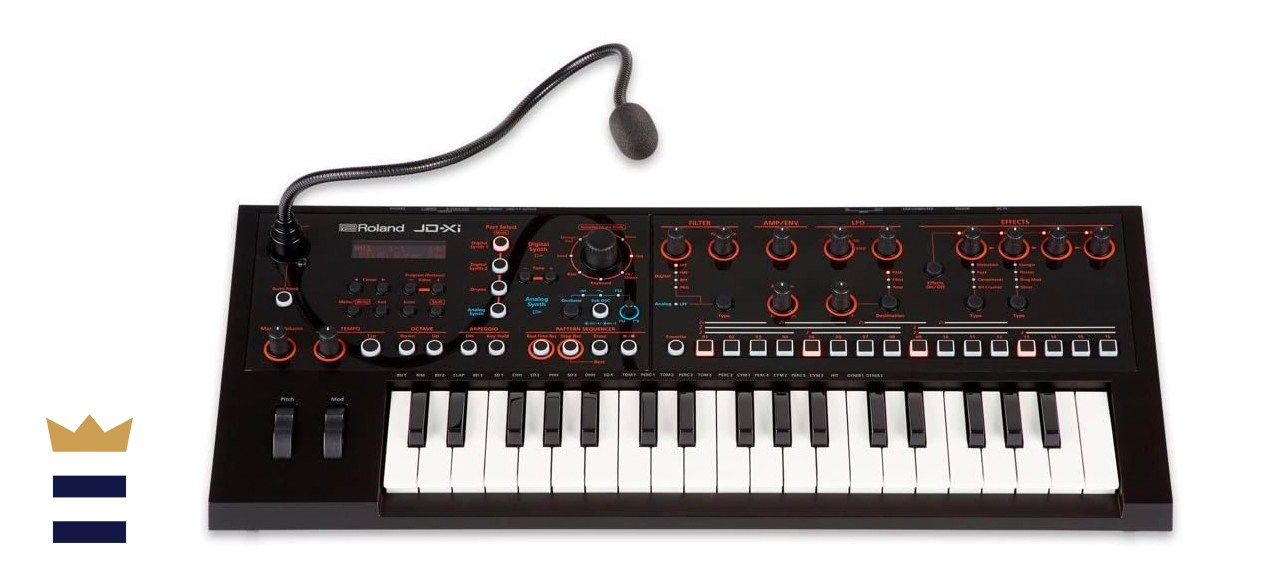Roland JD-XI 37-Key Analog/Digital Crossover Voice Synthesizer