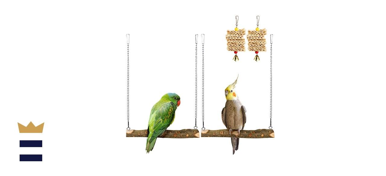 Roundler Pet Bird Swing