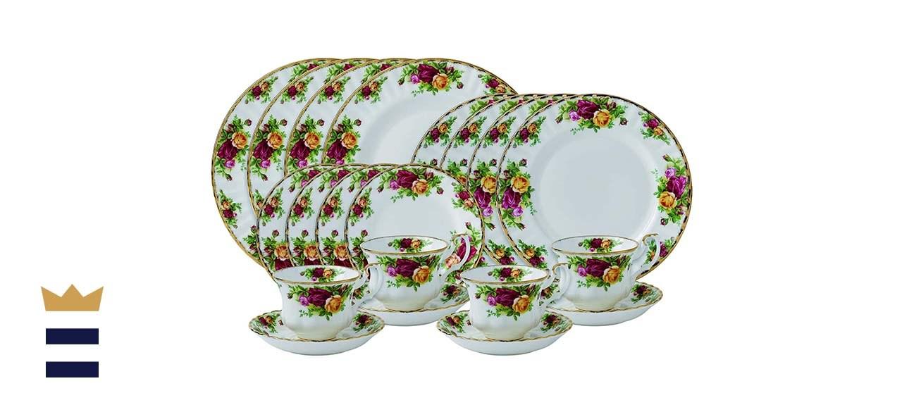 Royal Albert Old Country Rose 20-Piece Dinnerware Set