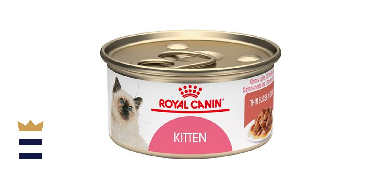 Royal Canin Feline Health Nutrition Thin Slices in Gravy Wet Kitten Food