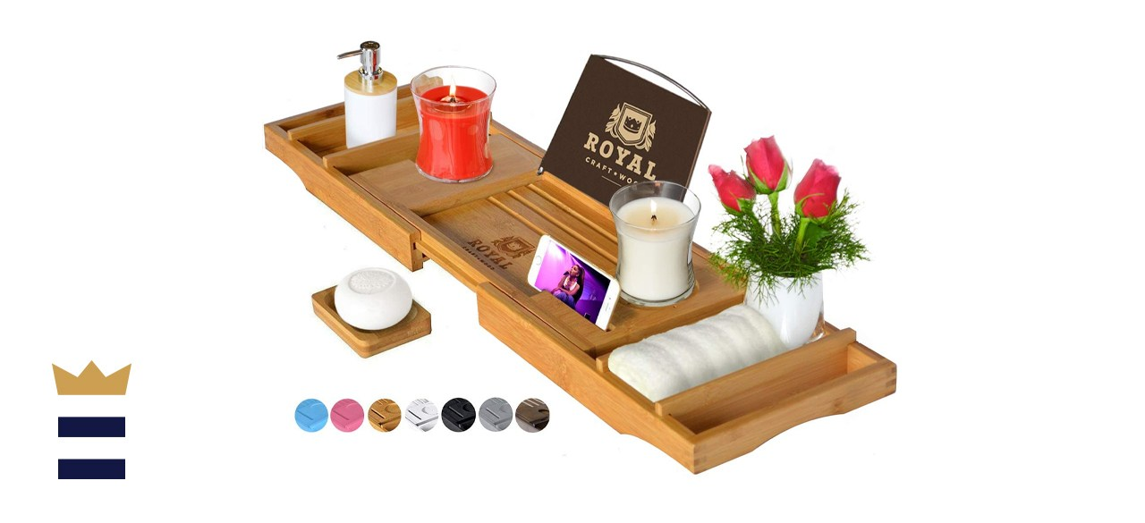 Royal Craft Wood Bathtub Caddy
