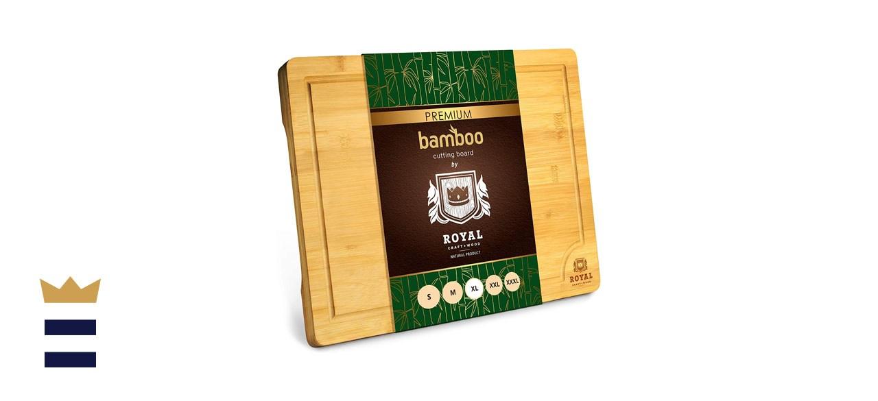 Royal Craft Wood Organic Bamboo Butcher Block