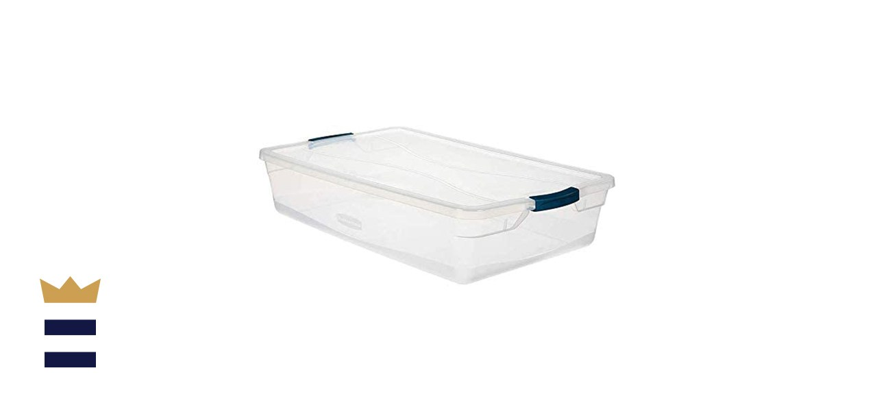 Rubbermaid Cleverstore Stackable Plastic Storage Containers