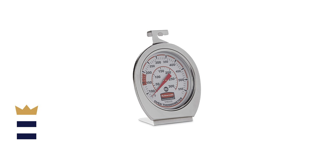 Rubbermaid Commercial Stainless Steel Oven Monitoring Thermometer