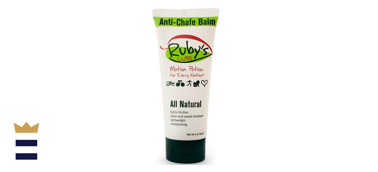 Ruby's Lube All-Natural Anti-Chafe, Anti-Blister Balm