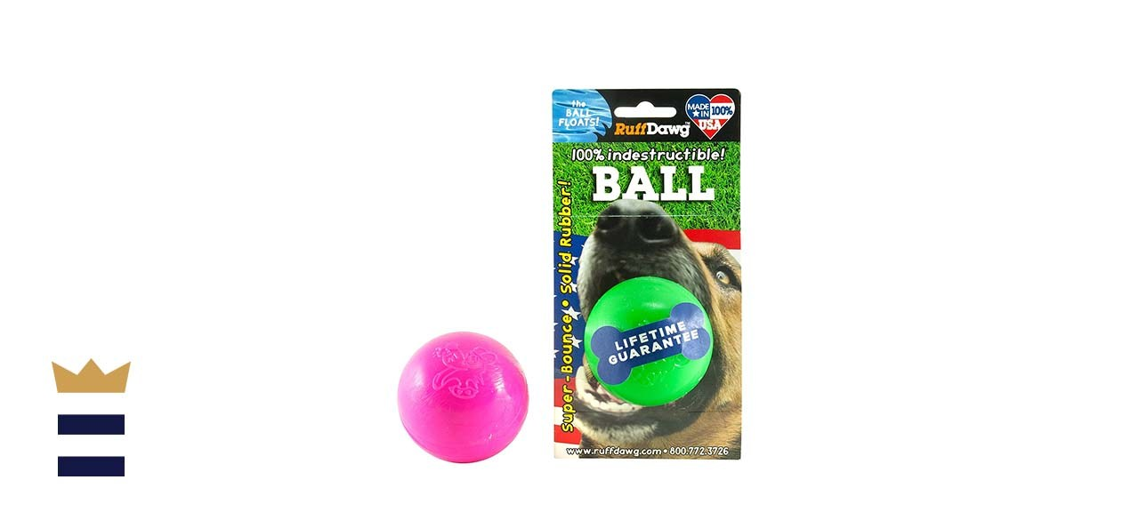 Ruff Dawg Ball Solid Rubber Dog Toy