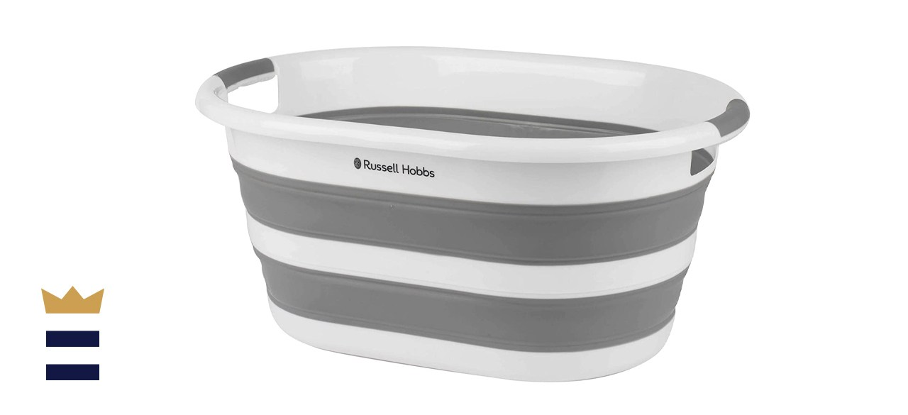 Russell Hobbs Collapsible Oval Laundry Basket