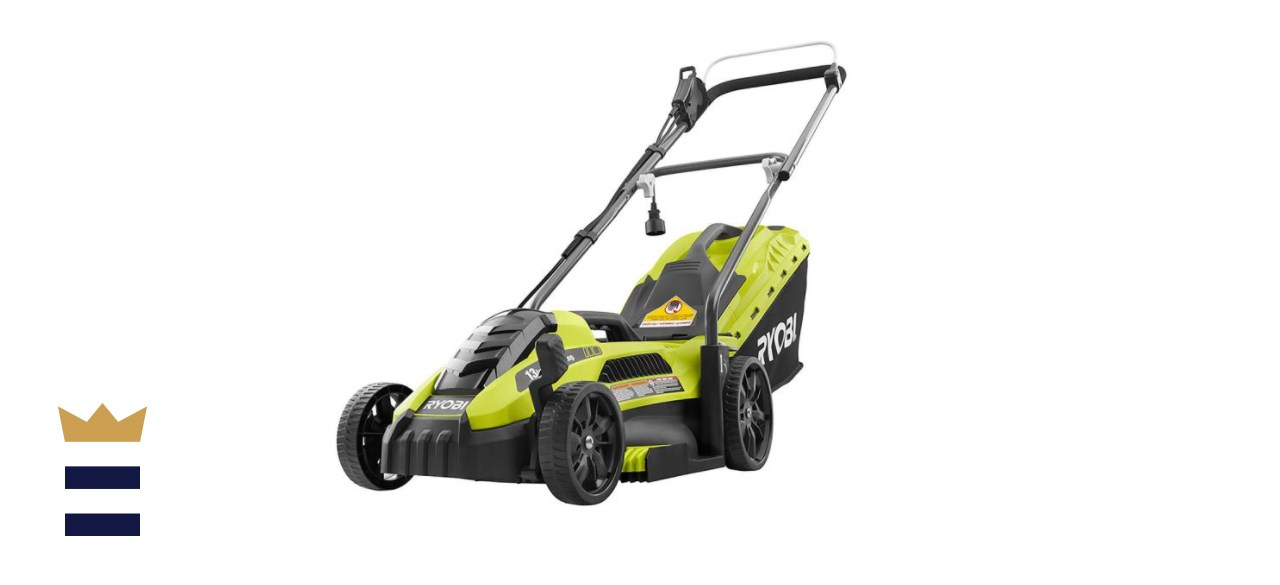 RYOBI 13-inch 11 Amp Corded Push Lawn Mower