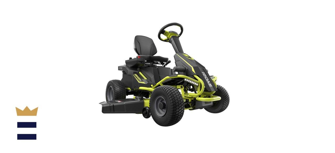 RYOBI 38-inch 75 Ah Battery Electric Riding Lawn Mower