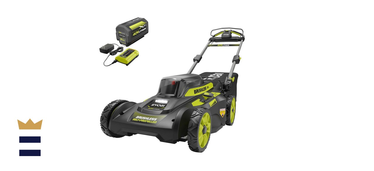 20 in. 40-Volt 6.0 Ah Lithium-Ion Battery Brushless Cordless Walk