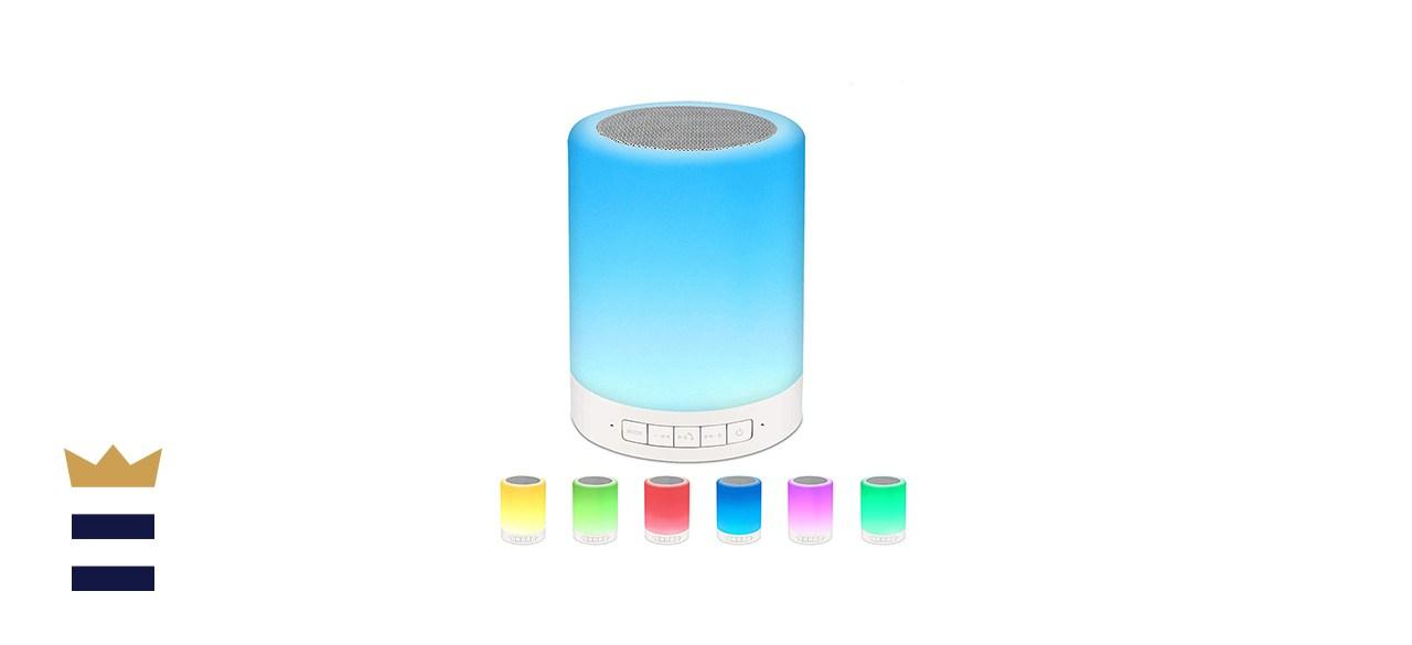 S Svuencio Variable Color Night-Light Bluetooth Speaker