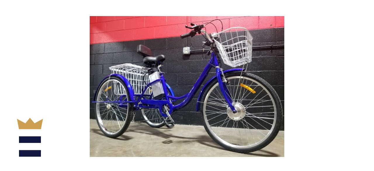 SaferWholesaleCom 1000W Electric Powered Adult Tricycle