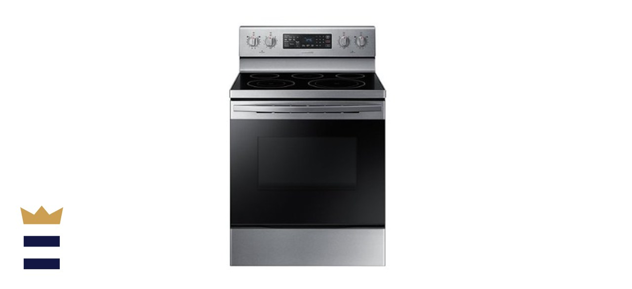 Samsung 30-Inch 5.9-Cubic Foot Freestanding Electric Convection Range