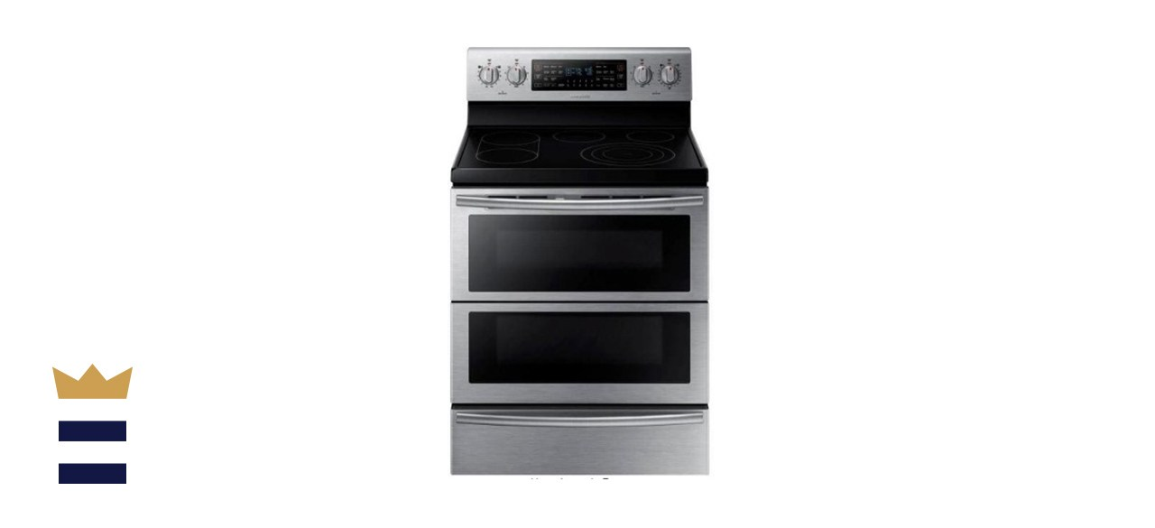 Samsung 5.9 Cubic Foot Flex Duo Double Oven Electric Range with Self-Cleaning Convection