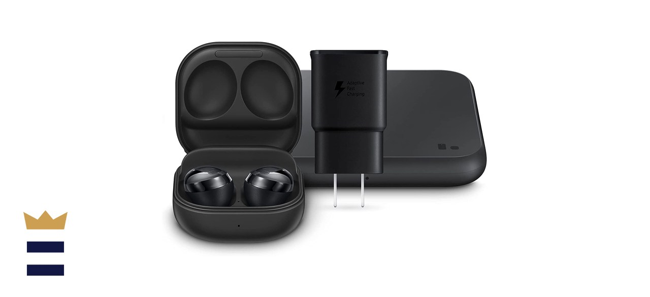Samsung Galaxy Buds Pro Earbuds with a Wireless Charging Case