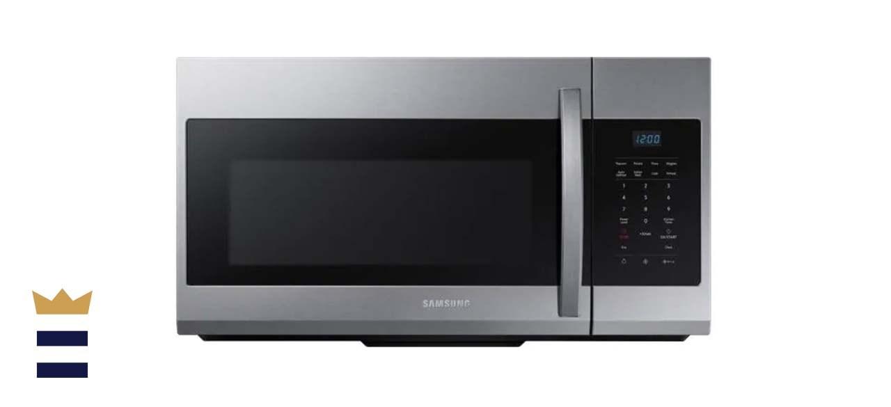 Samsung 1.7 Cubic Feet Over-the-Range Microwave
