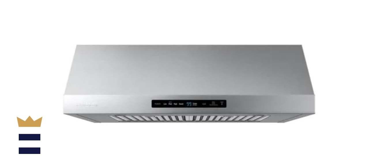 Samsung Stainless Steel 30 Inch Under Cabinet Range Hood