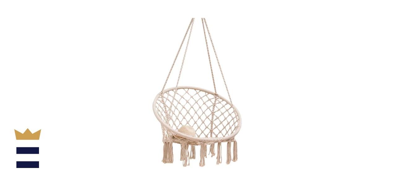 Sand & Stable Saxon Macrame Chair Hammock