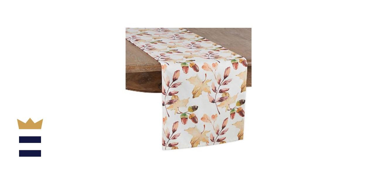 Saro Lifestyle Willow Oak Table Linen Collection