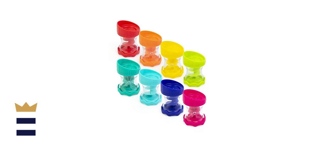 Sassy 8-Piece Rain Barrel Bath Toy