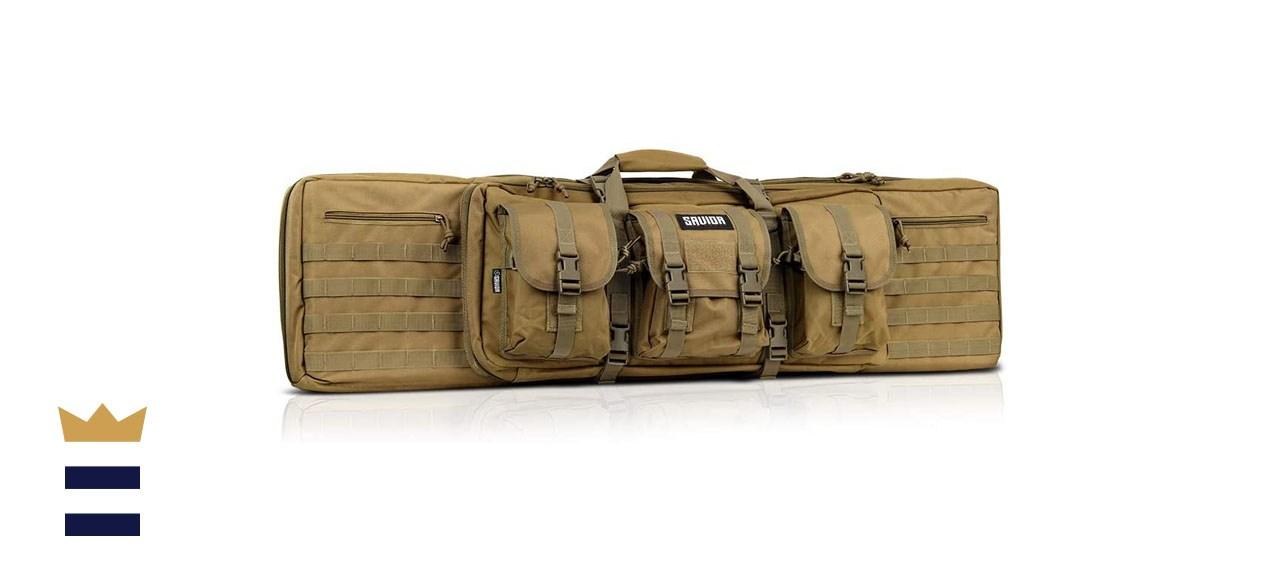 Savior Equipment Tactical Double-Long Rifle/Pistol Gun Bag