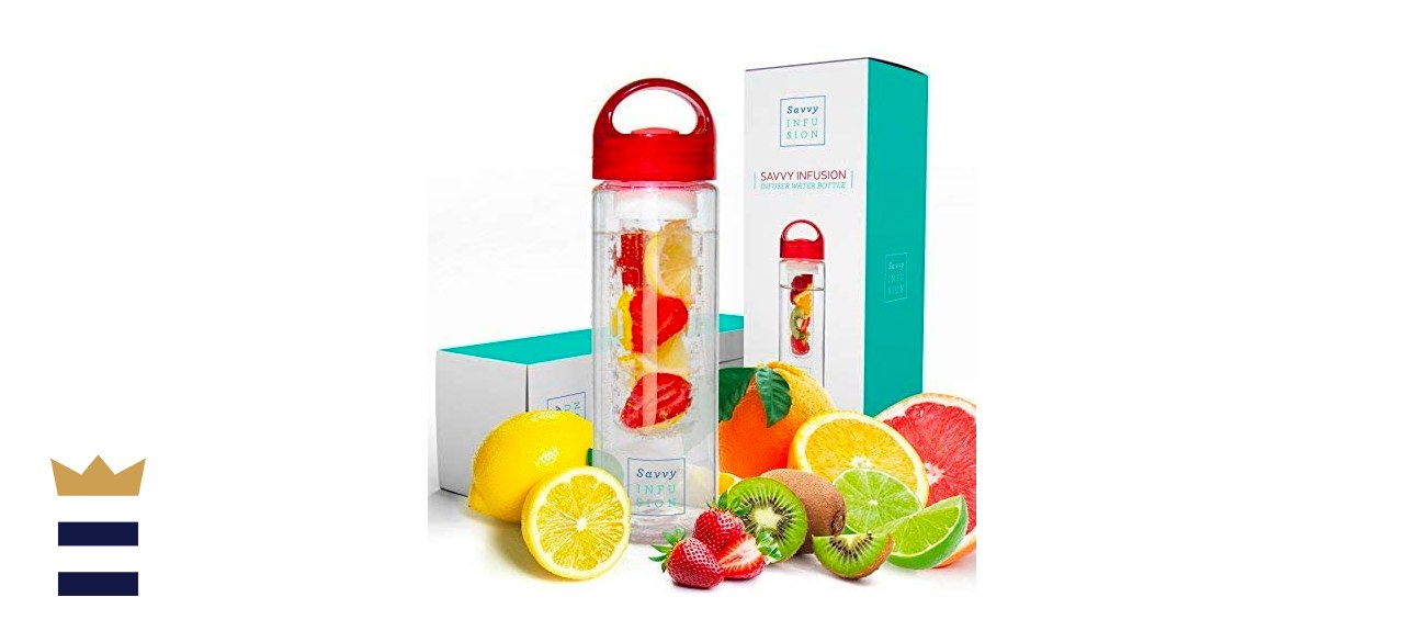 Savvy Infusion Fruit Infuser Water Bottle