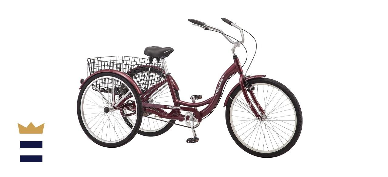 Schwinn Meridian Single Speed Adult Tricycle