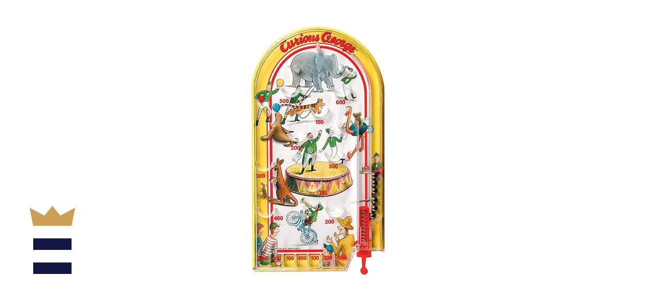 Schylling Curious George Pinball Toy