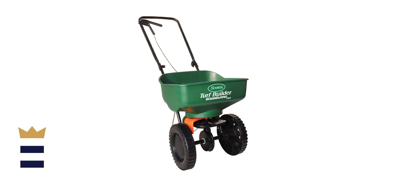 Scotts Turf Builder EdgeGuard Mini Broadcast Spreader
