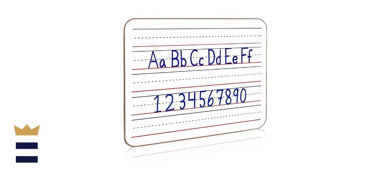 Scribbledo Dry-Erase Ruled Lap Board