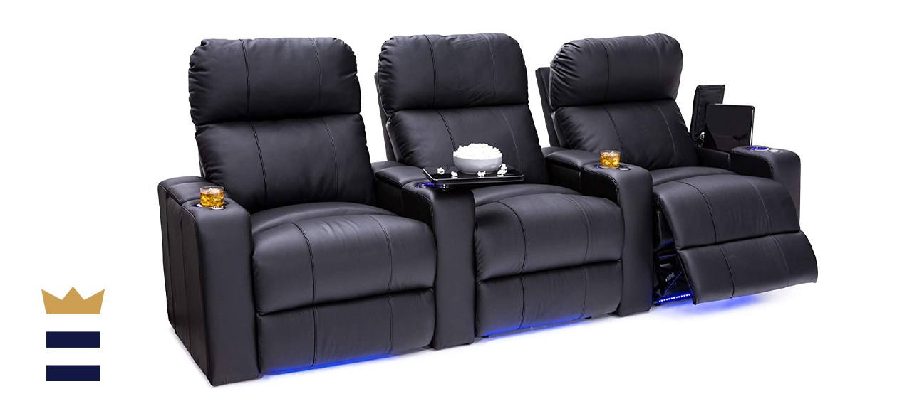 Seatcraft Julius Leather Multimedia Sofa