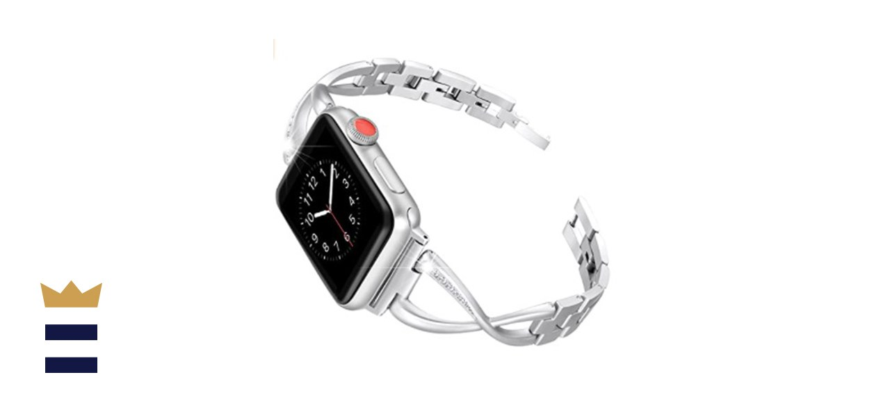 Secbolt Stainless Steel Band Compatible Apple Watch
