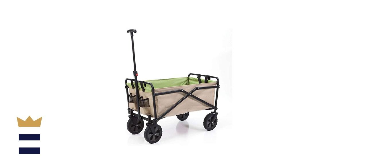 Seina Manual Folding Steel Outdoor Cart