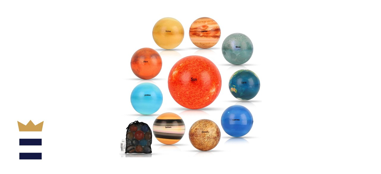 SELMUEL Solar System Stress Balls