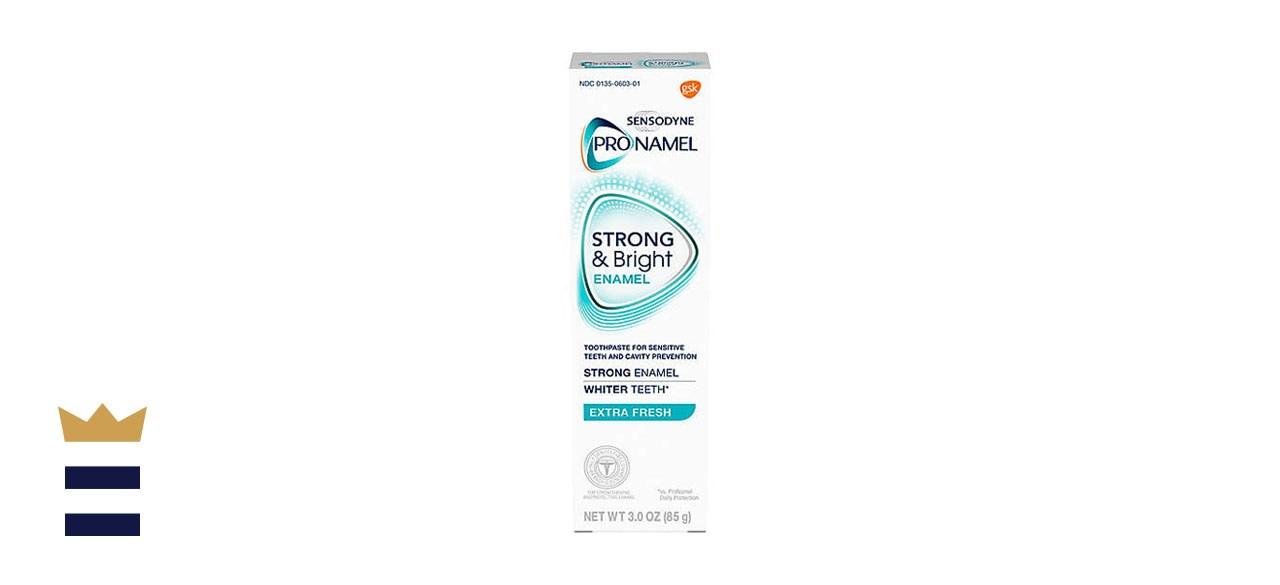 Sensodyne Pronamel Strong and Bright Whitening Enamel Toothpaste