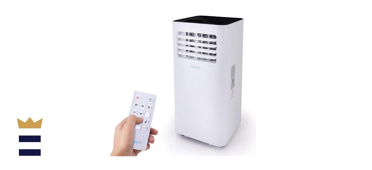 SereneLife SLPAC105W 10,000 Btu Portable Air Conditioner