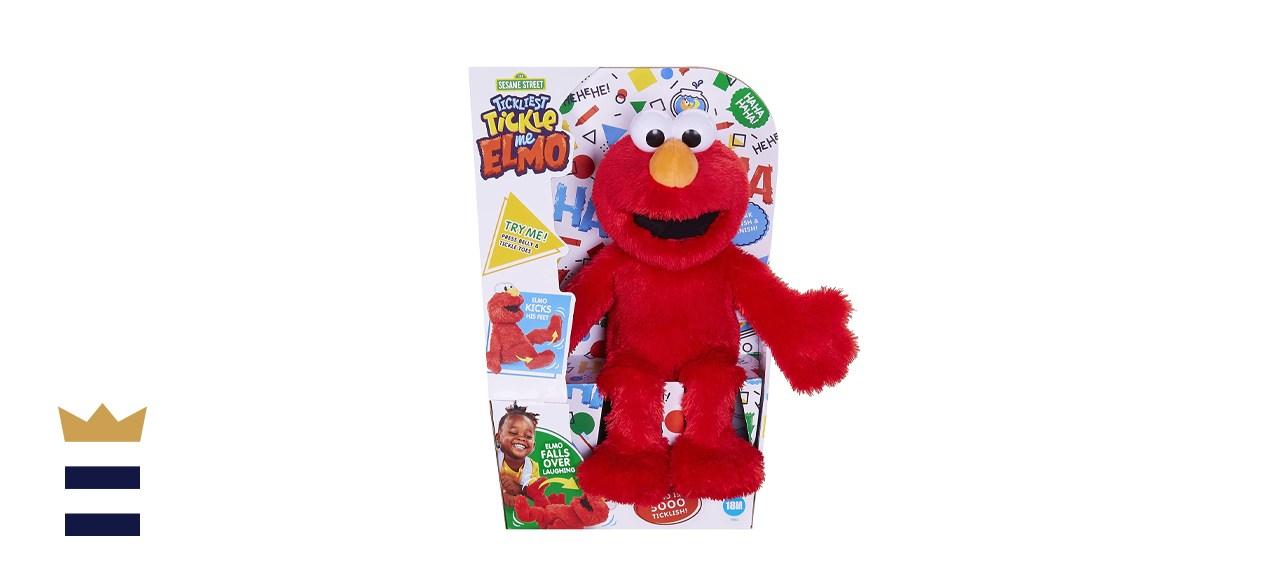 Sesame Street 25th Anniversary Tickliest Tickle Me Elmo