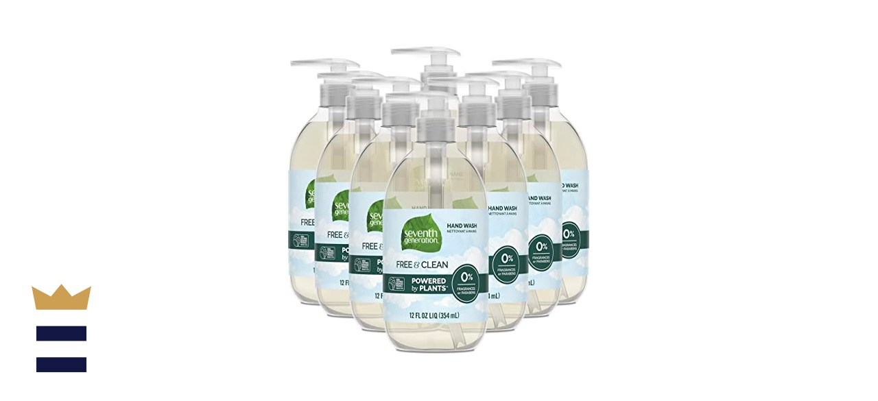 Seventh Generation Free & Clean Unscented Hand Soap